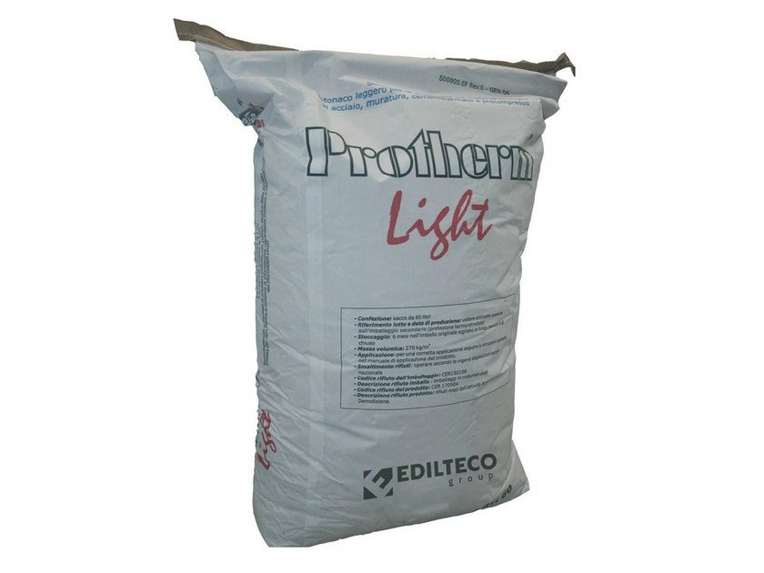 Fire-retardant plaster PROTHERM LIGHT - EDILTECO