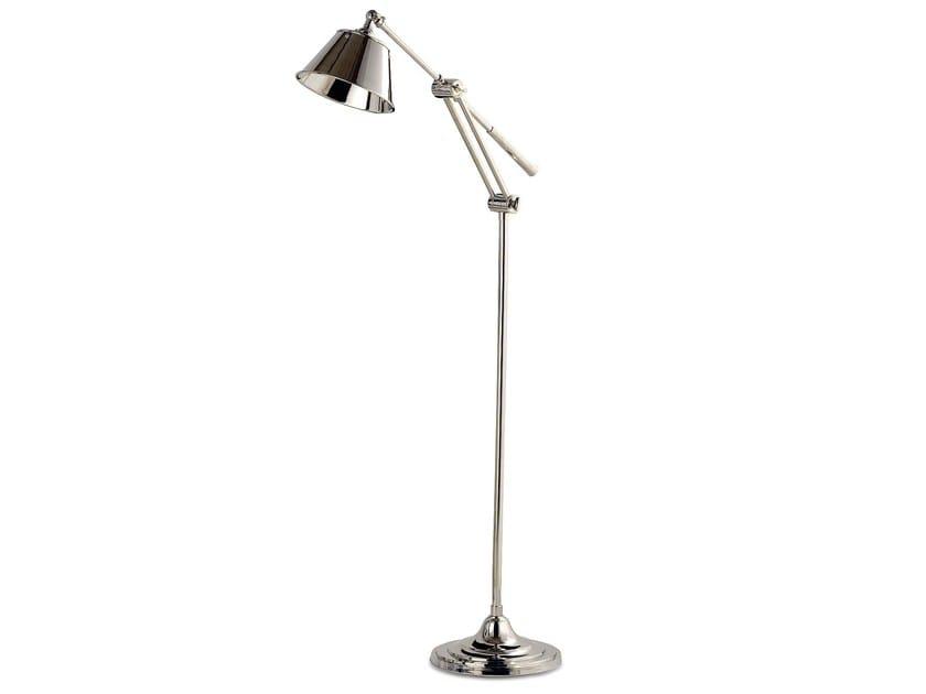Brass floor lamp ELENA   Floor lamp by Cantori