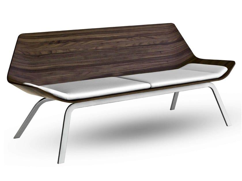 Multi-layer wood small sofa OTIUM - Lapalma