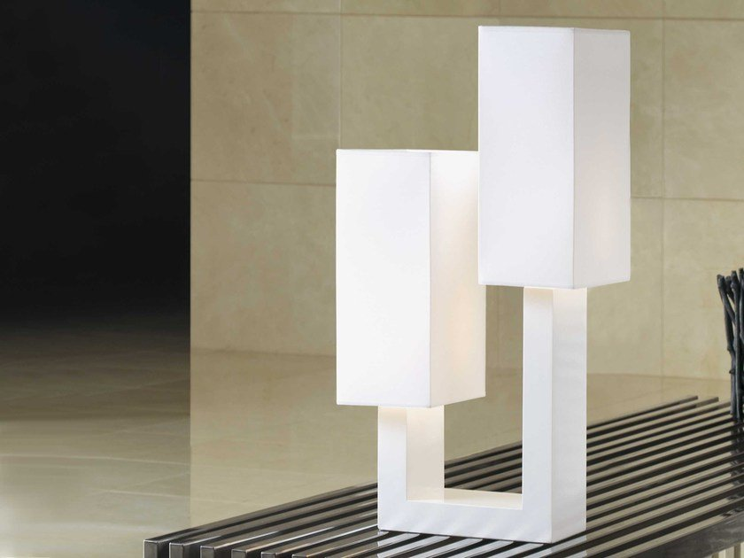 Wooden table lamp IL - ENVY