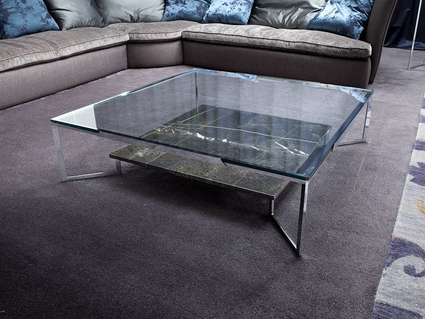 Il tavolino basso da soggiorno Paso Doble prodotto da Erba presenta ...