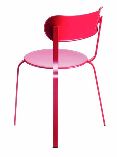 Stackable metal chair STIL | Chair - Lapalma