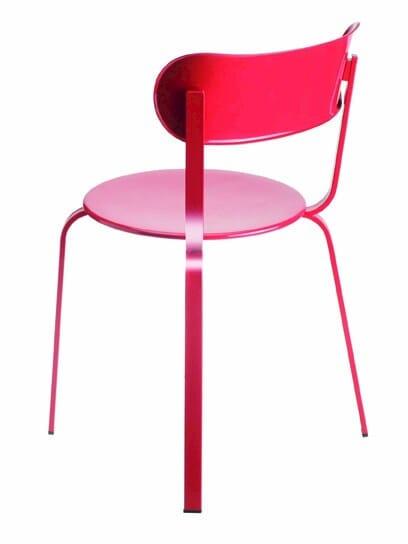 Stackable metal chair STIL | Chair - Lapalma