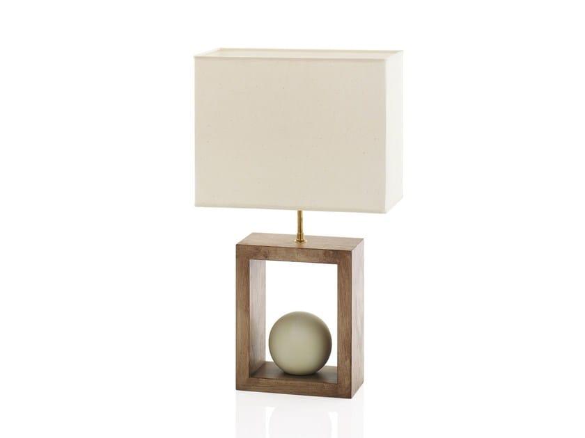 Wooden table lamp STONOO - ENVY