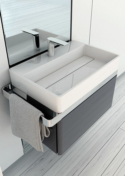 Single vanity unit STRUCTURE | Vanity unit - INBANI