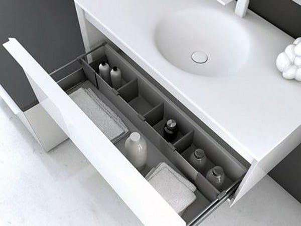 Divisorio per cassetti in metallo ka divisorio per - Contenitori per bagno ...