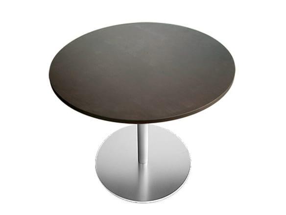 Height-adjustable round table BRIO | Round table - Lapalma