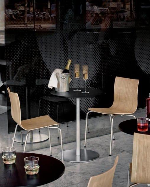 Tavolo ad altezza regolabile rotondo brio tavolo rotondo for Tavolo rotondo ristorante