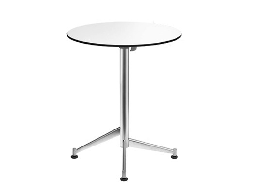 Drop-leaf round table SELTZ | Round table - Lapalma