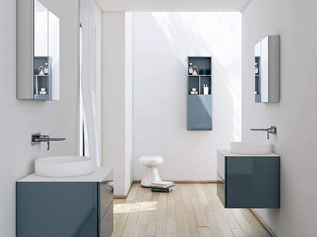 Specchio con contenitore per bagno strato specchio con contenitore inbani - Specchi bagno con contenitore ...