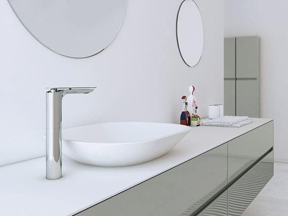Countertop Solid Surface® washbasin STRATO | Countertop washbasin - INBANI