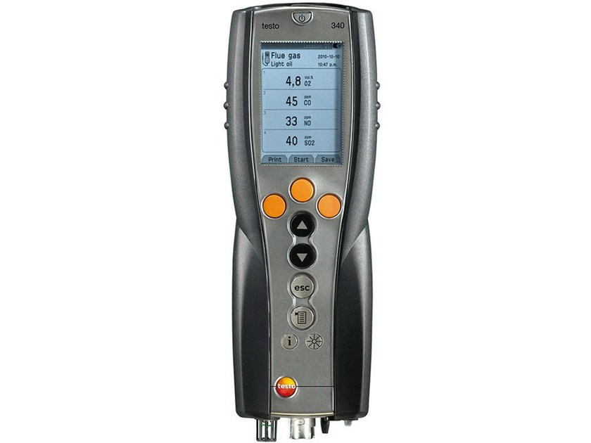 Measurement, control, thermographic and infrared instruments TESTO 340 - TESTO