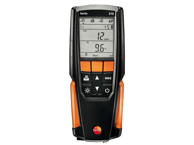 Measurement, control, thermographic and infrared instruments TESTO 310 - TESTO