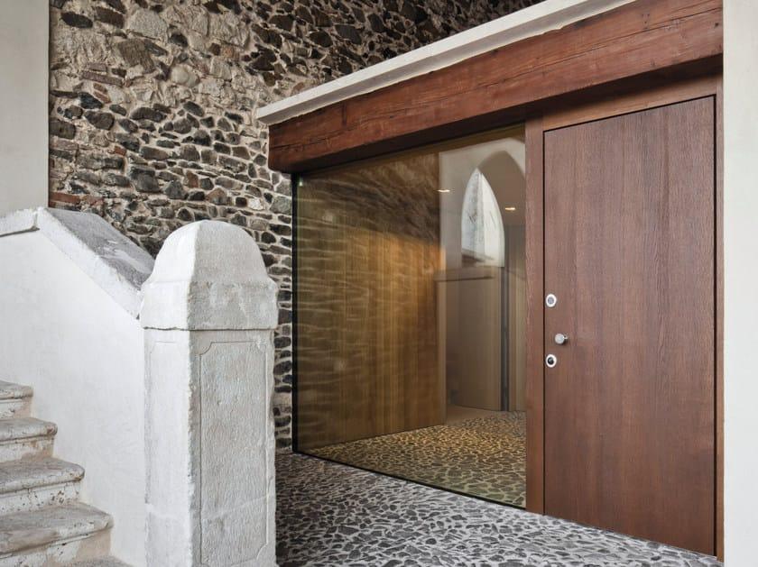 Porta D Ingresso Blindata In Legno E Vetro Elite 16 5096