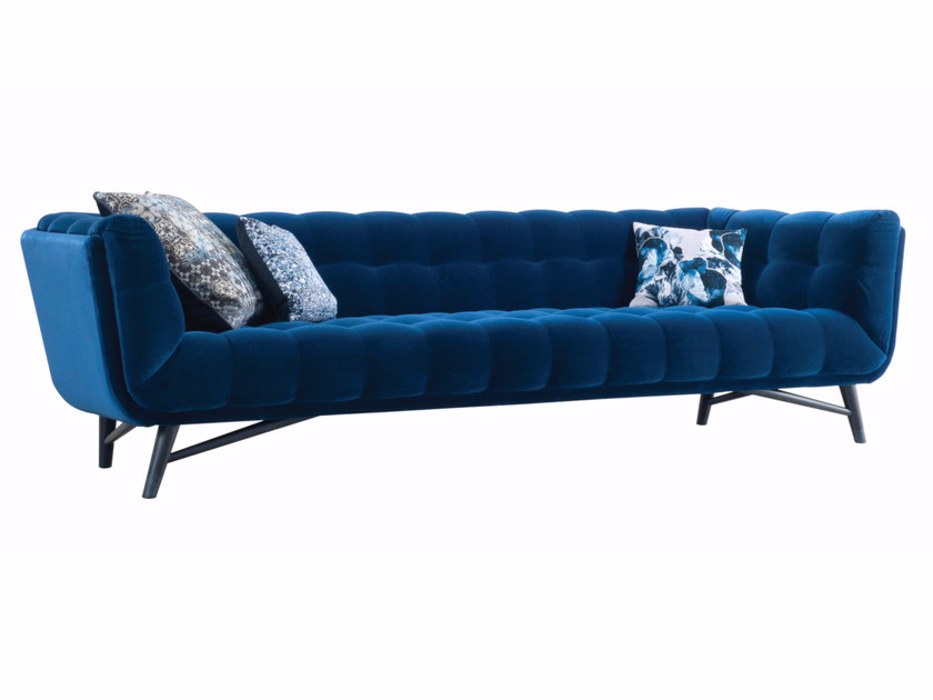 Divano in tessuto a 4 posti profile divano a 4 posti roche bobois - Divano detrazione 50 ...