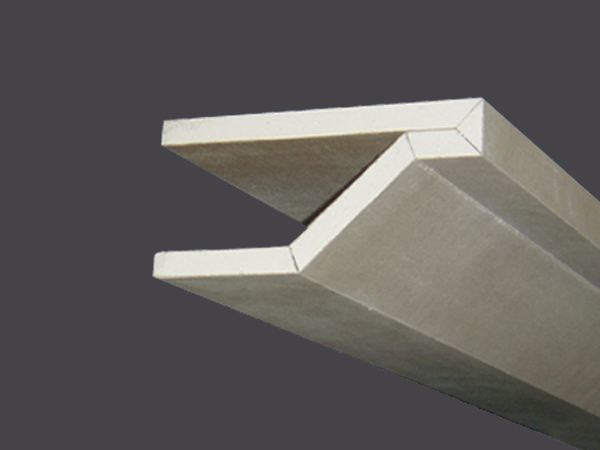 Cornices in plasterboard PROFILGIPS CORNICE WITH EXTENSION 135° - Gyps