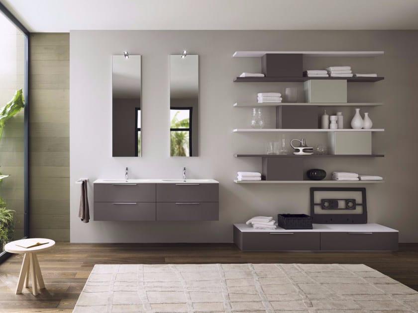 Sistema bagno componibile PROGETTO - Composizione 4 - INDA®