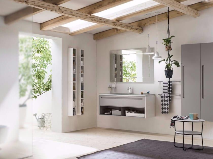 Sistema bagno componibile PROGETTO+ - Composizione 4 - INDA®