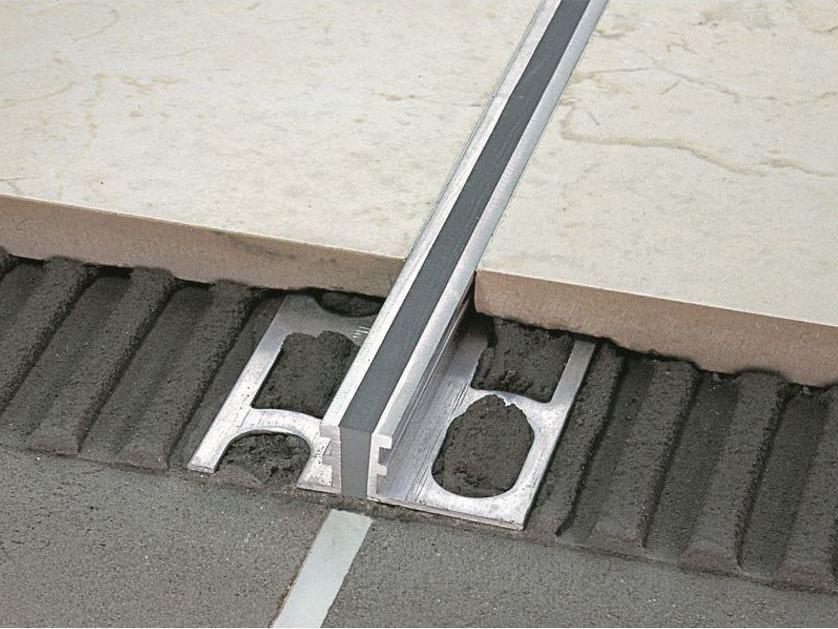 NTA/10 natural aluminium + EPDM grey polishable