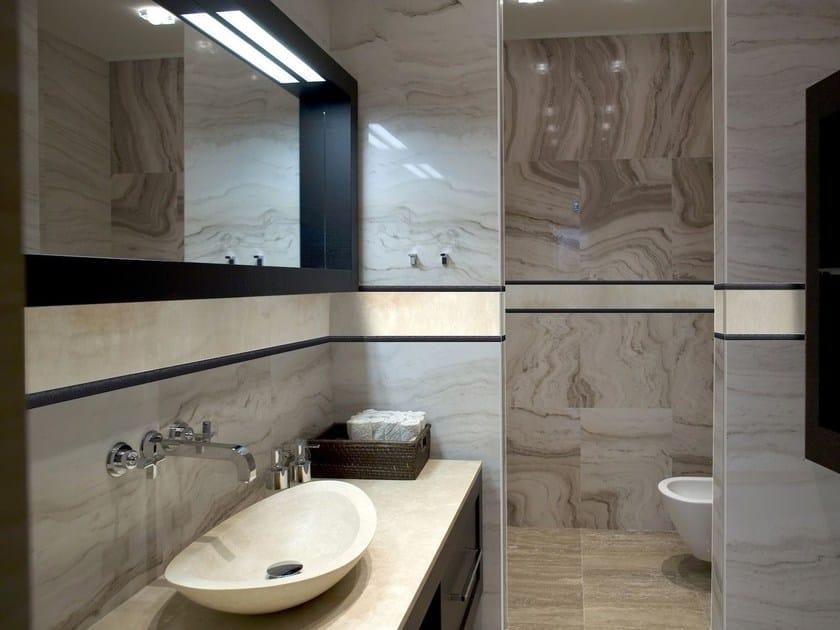 Decorative edge profile for walls PROLISTEL P ALL - PROGRESS PROFILES