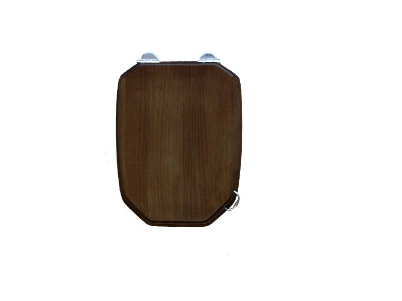 Classic style wooden toilet seat PROVENCE 700 | Toilet seat - BLEU PROVENCE