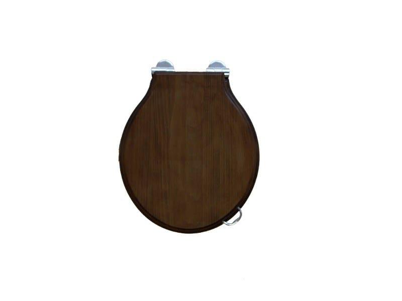 Classic style wooden toilet seat PROVENCE 800 | Toilet seat - BLEU PROVENCE