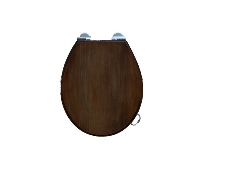 Classic style wooden toilet seat PROVENCE 900 | Toilet seat - BLEU PROVENCE