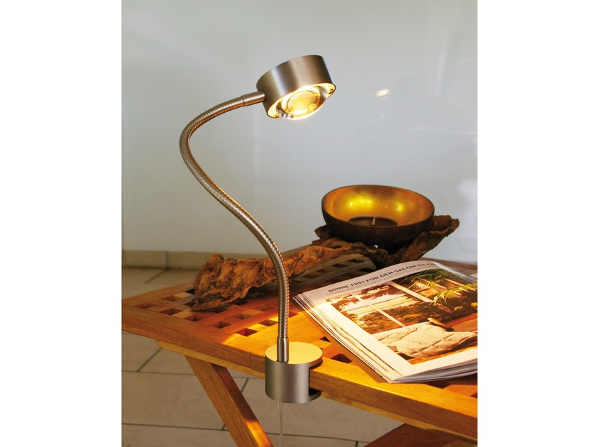 Lampada da tavolo con morsetto con braccio flessibile PUK FLEXLIGHT SCREW - Top Light