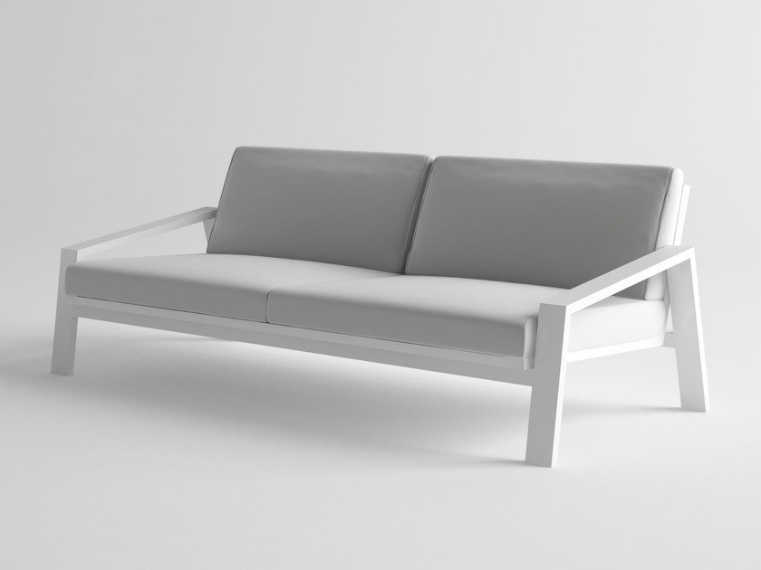 Aluminium garden sofa PULVIS | Garden sofa - 10Deka