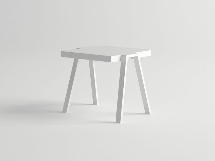 Aluminium side table PULVIS | Side table - 10Deka