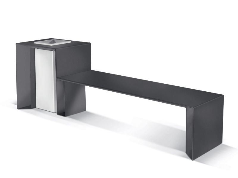 Bench with Integrated Planter PUNKA C - LAB23