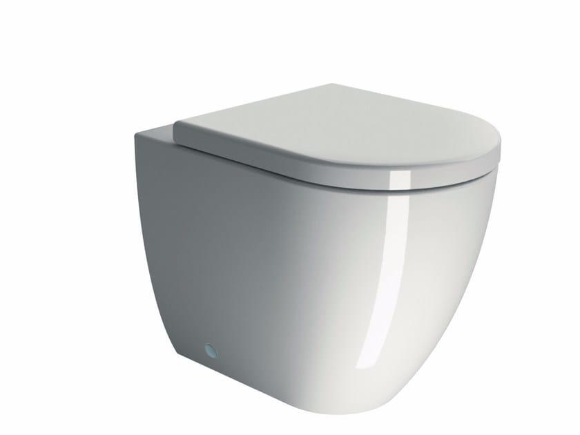 Ceramic toilet PURA 55 | Toilet by GSI ceramica