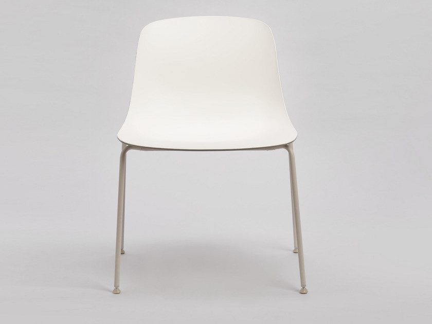 Stackable polypropylene chair PURE LOOP MAXI | Chair by Infiniti