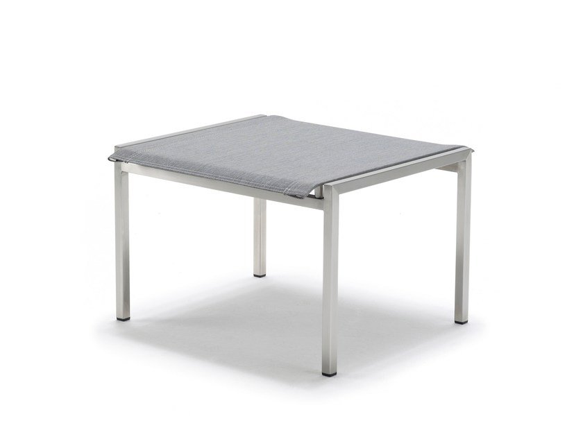 Chair PURE STAINLESS STEEL | Low stool by solpuri