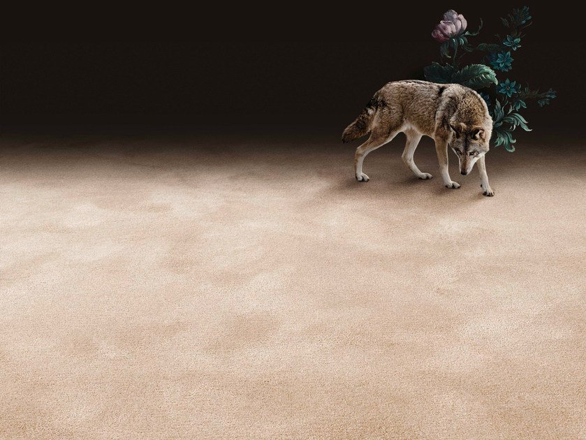 Solid-color wool carpeting PURE WOOL - OBJECT CARPET GmbH