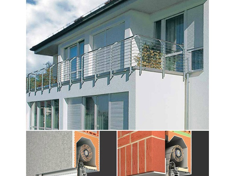 Box for roller shutter PURO® / PURO XR® by Sprilux