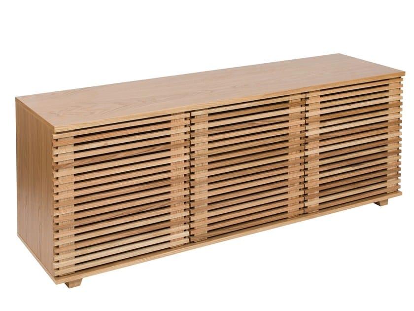 Wooden sideboard with doors PUTNEY   Sideboard - Woodman
