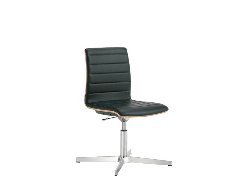 Height-adjustable chair with 4-spoke base Q-2 | Chair with 4-spoke base - Sesta