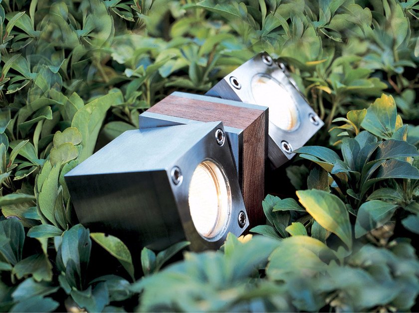 Adjustable stainless steel Outdoor floodlight Q-BIC | Outdoor floodlight - ROYAL BOTANIA