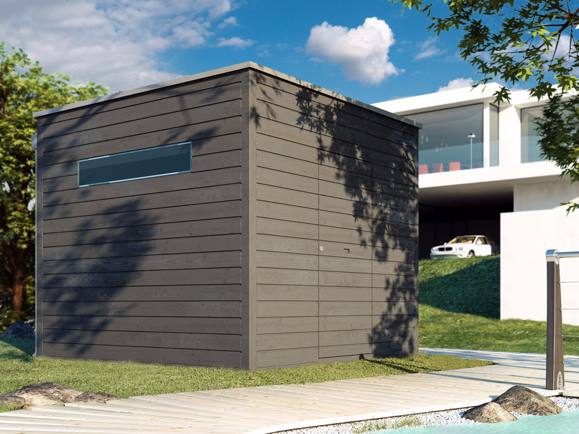 Wooden Garden shed QBO - ALCE