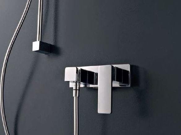 Miscelatore doccia esterno QQUADRO by ZAZZERI