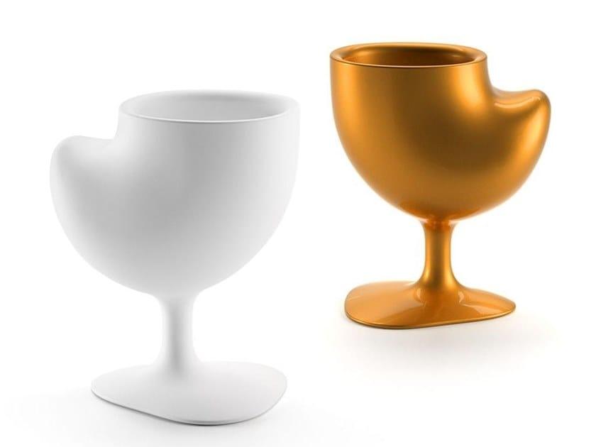 Polyethylene vase QUACK by Plust