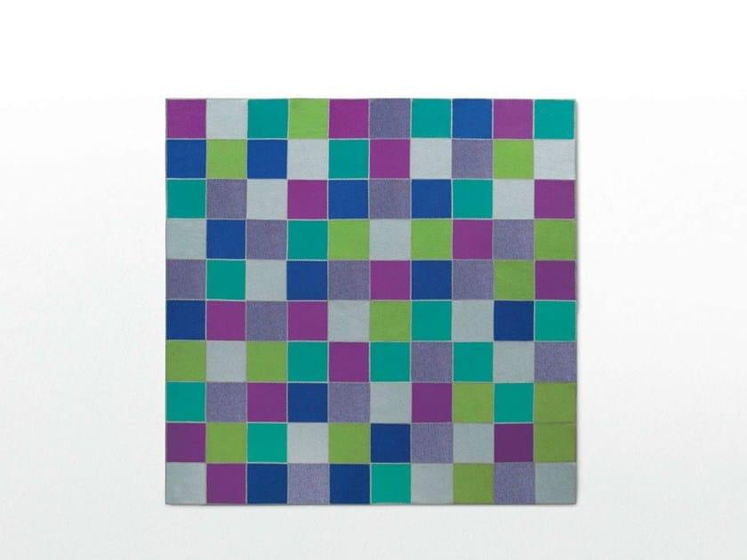 Square felt rug QUADRI | Square rug - Paola Lenti