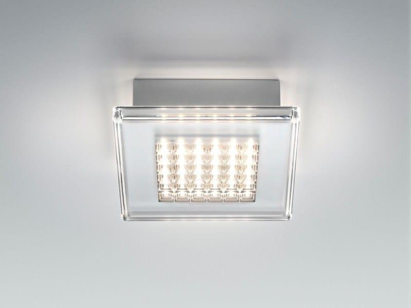Plastic wall lamp / ceiling lamp QUADRILED | Ceiling lamp - Fabbian
