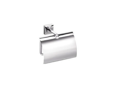 Metal toilet roll holder QUADRO | Metal toilet roll holder by INDA®