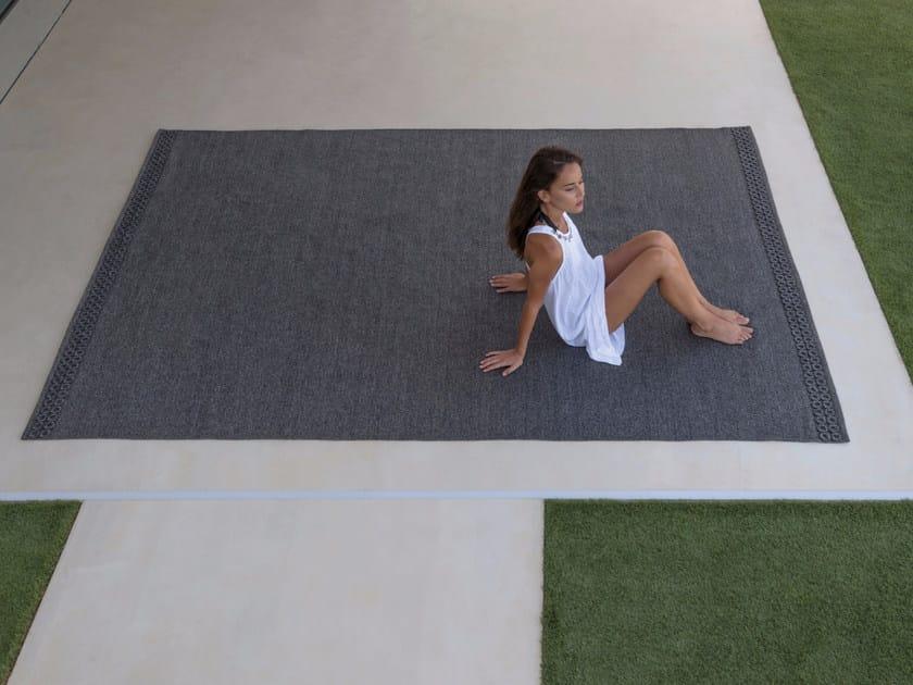 Rectangular polypropylene outdoor rugs QUADRO - Talenti