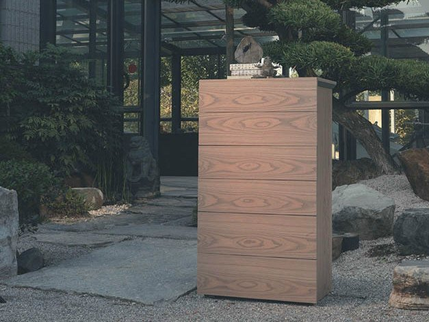 Wooden chest of drawers QUARANTACINQUE | Chest of drawers - Fimar