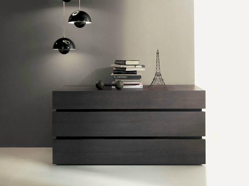 Wooden dresser QUARANTACINQUE | Dresser - Fimar