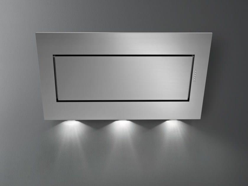 Cappa a carboni attivi in acciaio inox a parete QUASAR TOP - Falmec