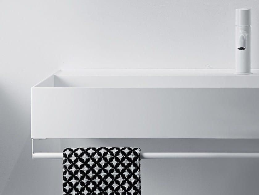 Stainless steel towel bar QUATTRO.ZERO | Towel rack by FALPER